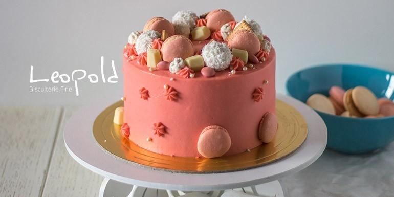 Recette : Gâteau aux Macarons