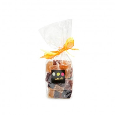 Sachet pâtes de fruits assorties 180g
