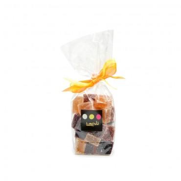 Sachet pâtes de fruits assorties 180g