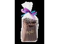 Sachet chocolats noirs et laits Grands Crus à la casse, Natures et Incrustés 400g