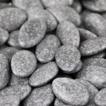 "Dragées au chocolat ""Gris granite"""